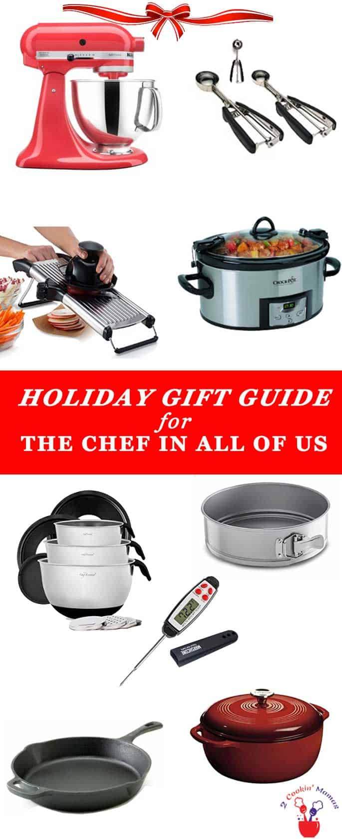 Here's a holiday gift guide of some of my favorite kitchen things to help you with your Christmas shopping.