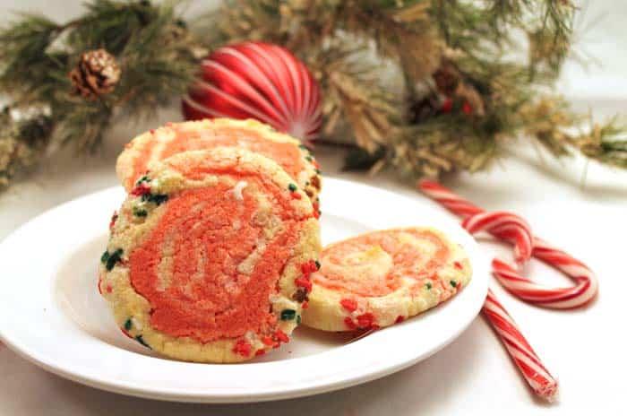 Peppermint Pinwheel Cookies 2   2 Cookin Mamas
