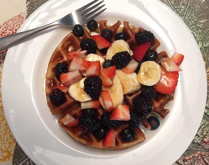 Almond Flour Waffles 1 | 2 Cookin Mamas