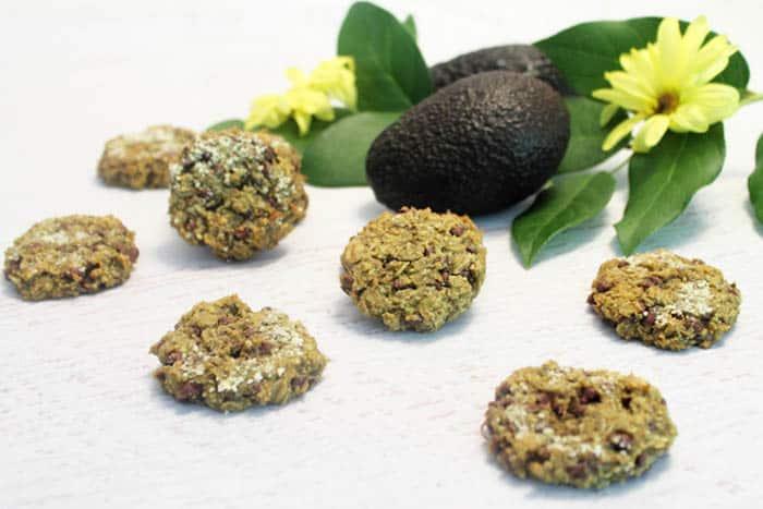 Avocado Oatmeal Chocolate Chip Cookie 3 | 2 Cookin Mamas