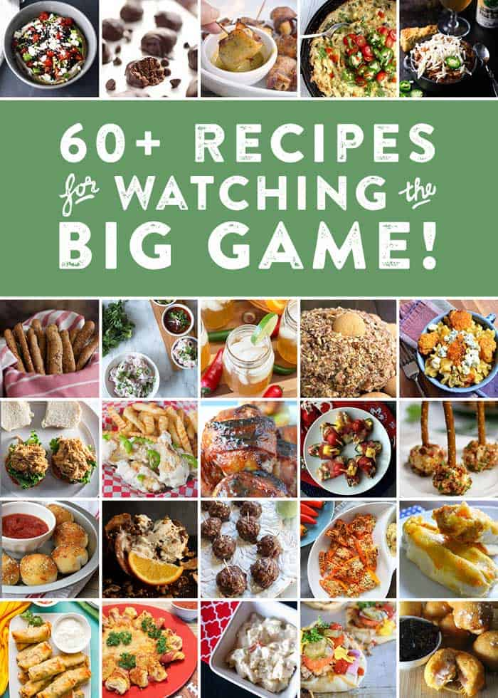 Big Game recipes
