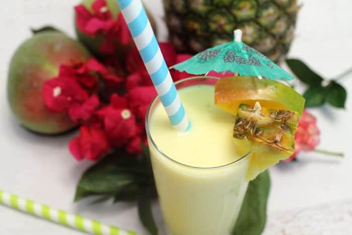 Mango Colada closeup | 2 Cookin Mamas