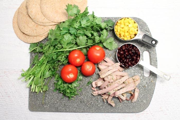 Pork Enchiladas ingredients | 2 Cookin Mamas