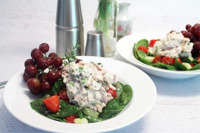 Rosemary Chicken Salad 1   2 Cookin Mamas