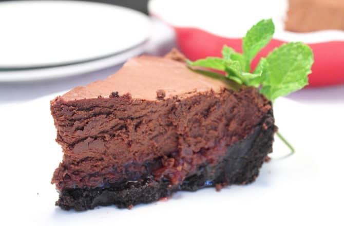 Chocolate Cherry Tart 700 | 2 Cookin Mamas