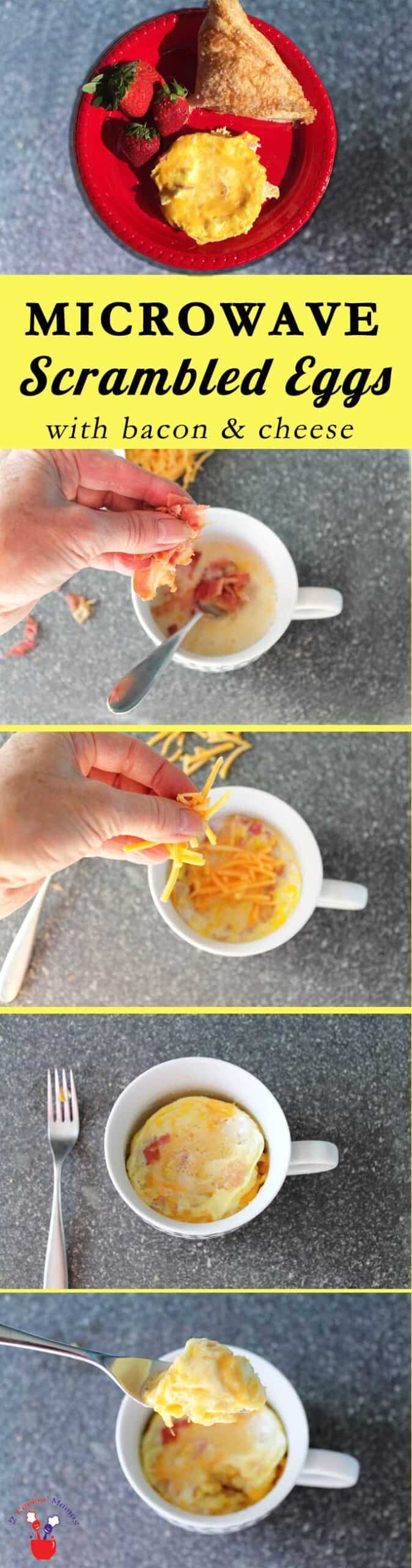 Quick and Easy Microwave Scrambled Eggs