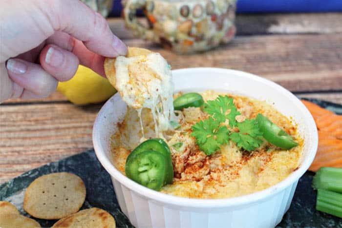 Cheesy Hot Tuna Dip | 2 Cookin Mamas