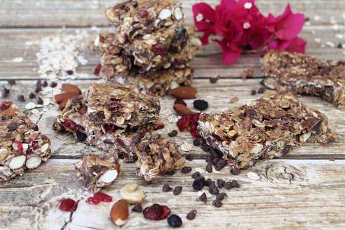 Trail Mix Granola Bars 3 | 2 Cookin Mamas