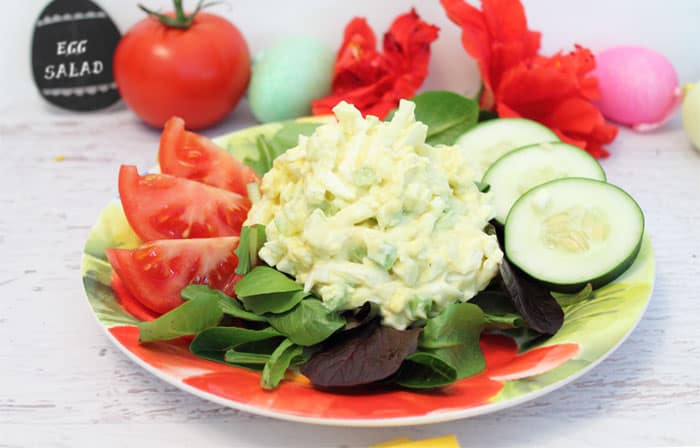 Easy Egg Salad 4 | 2 Cookin Mamas