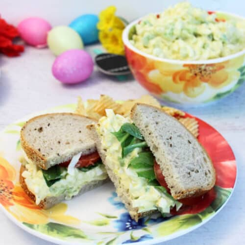 Egg Salad Sandwich square 1