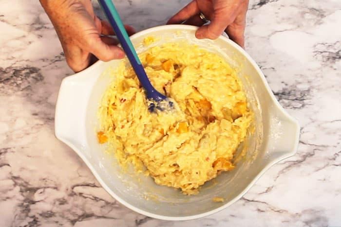 Fruit Cocktail Cake prep 2 | 2 Cookin Mamas