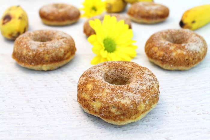Banana Doughnuts 12 | 2 Cookin Mamas