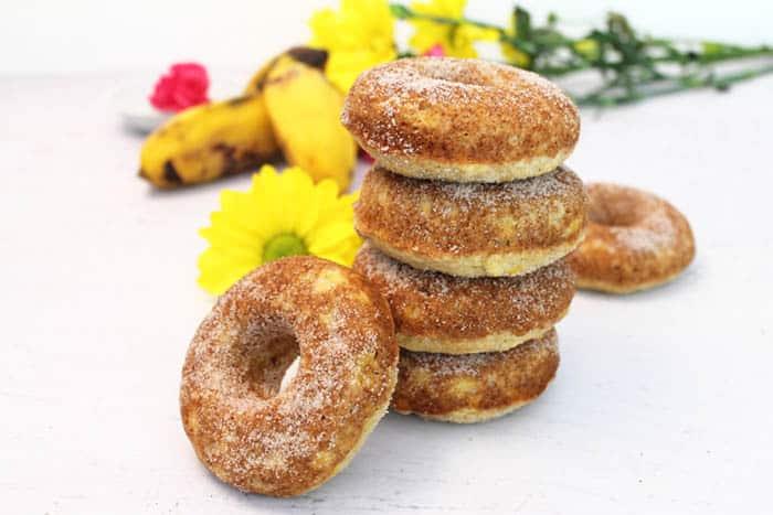Banana Doughnuts 9 | 2 Cookin Mamas