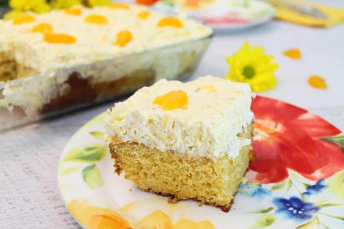Mandarin Orange Cake 5 | 2 Cookin Mamas