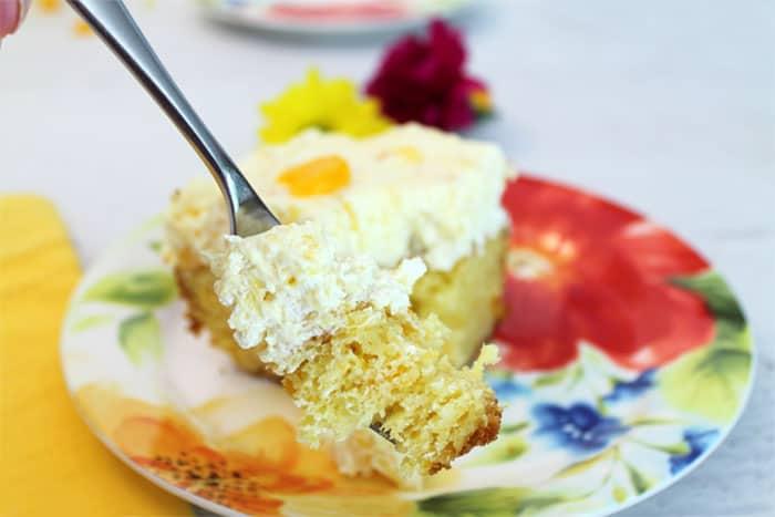 Mandarin Orange Cake 7 | 2 Cookin Mamas