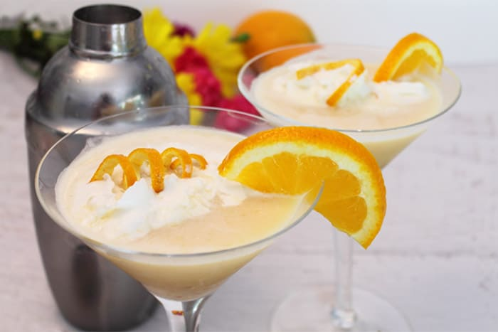 Whipped Blood Orange Tini 1 | 2 Cookin Mamas