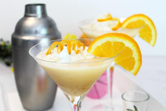 Whipped Blood Orange Tini 4 | 2 Cookin Mamas
