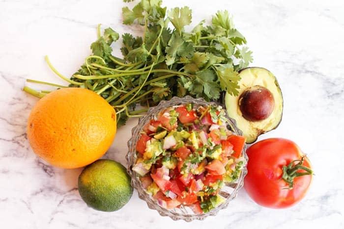Key West Burger salsa | 2 Cookin Mamas