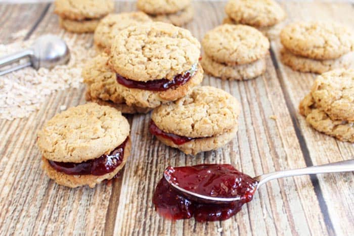 Peanut Butter and Jelly Cookies 3 | 2 Cookin Mamas