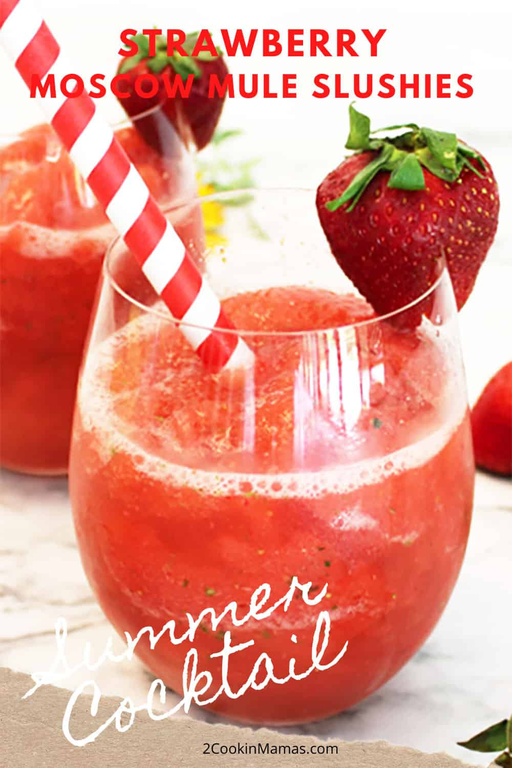 Strawberry Jalapeno Moscow Mule Slushie