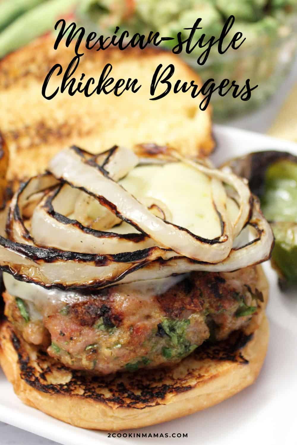 Chicken Burgers with A Mexican Twist