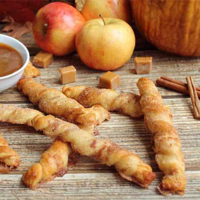 Apple Pie Twists