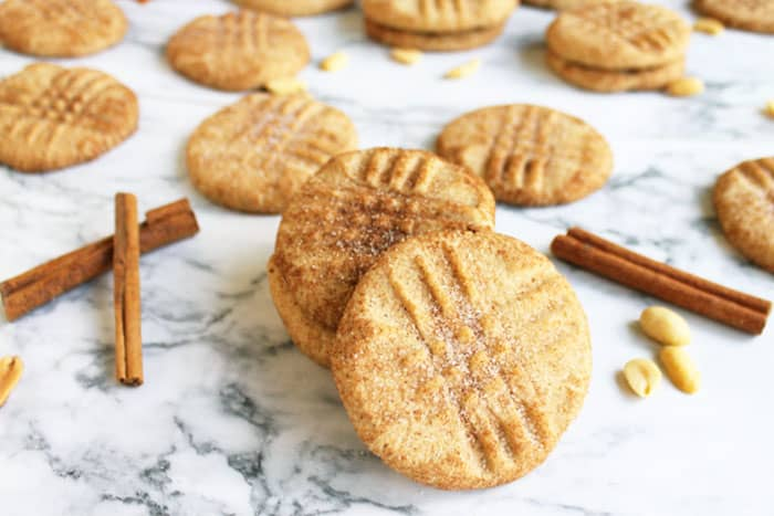 Peanut Butter Snickerdoodles 1 | 2 Cookin Mamas