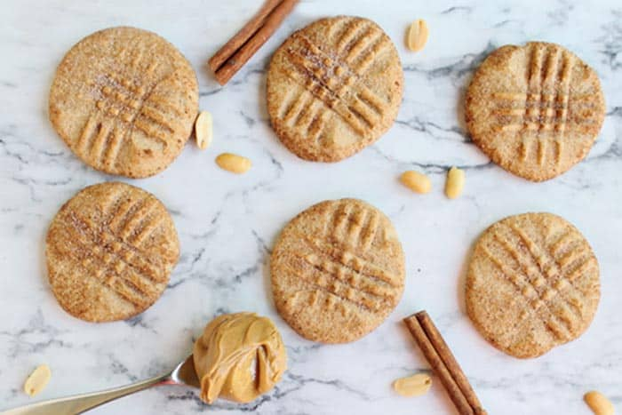 Peanut Butter Snickerdoodles 735 | 2 Cookin Mamas