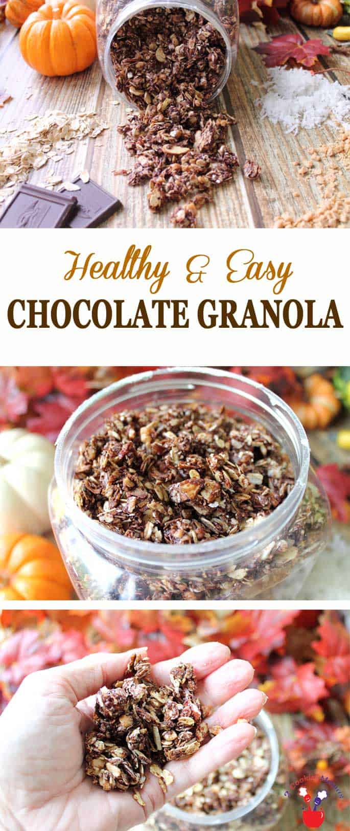Chocolate Granola | 2 Cookin Mamas