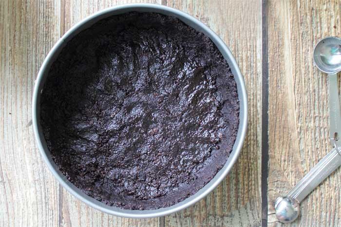 No Bake Pumpkin Cheesecake crust | 2 Cookin Mamas