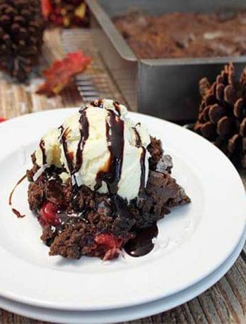 Black Forest Crisp square | 2 Cookin Mamas