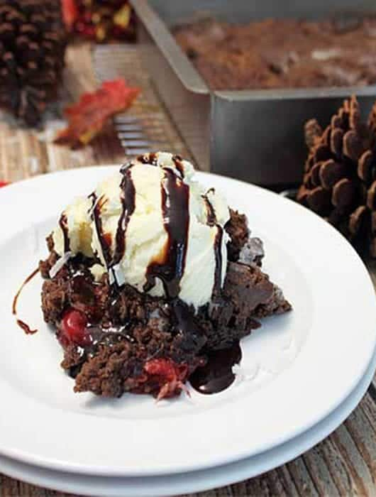 Black Forest Crisp square | 2 Cookin Mamas