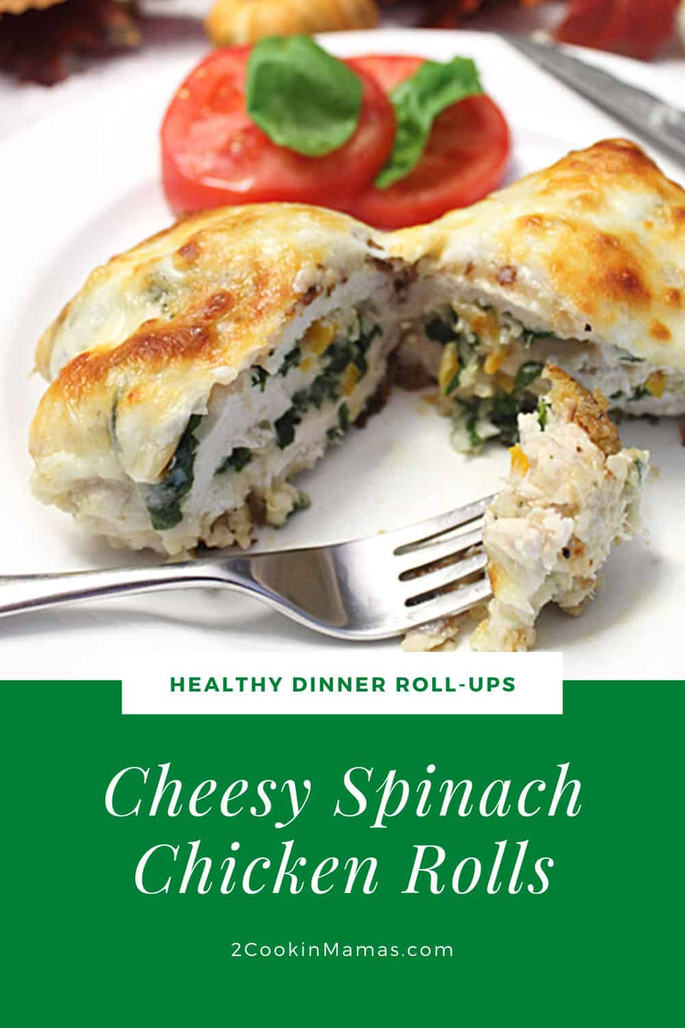 Easy Cheesy Chicken Roll Ups