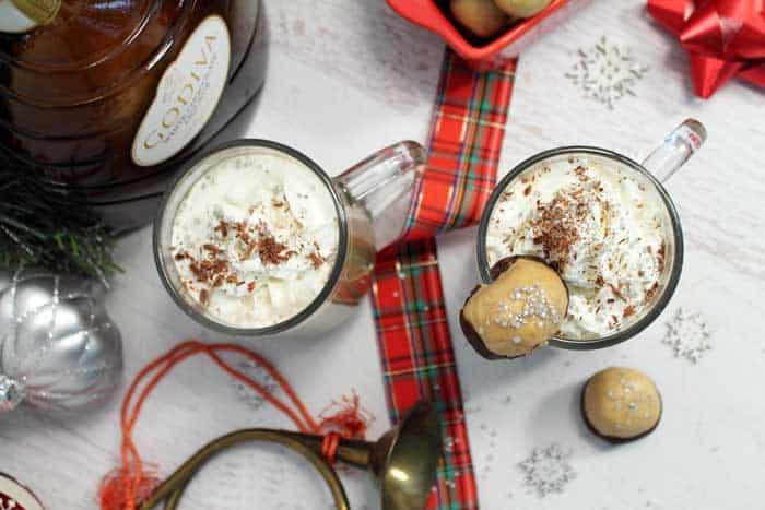 Buckeye Latte overhead | 2 Cookin Mamas