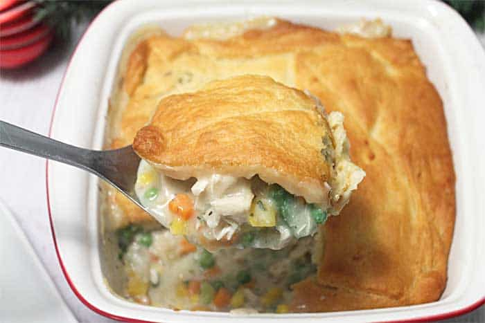 Leftover Turkey Pot Pie 1 | 2 Cookin Mamas