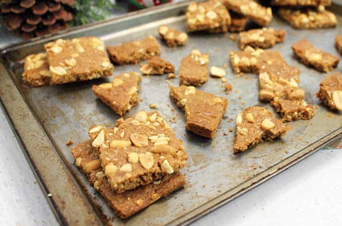 Peanut Brittle Cookies 2 | 2 Cookin Mamas