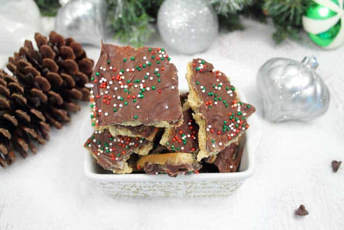 S'mores Christmas Crack 1 | 2 Cookin Mamas