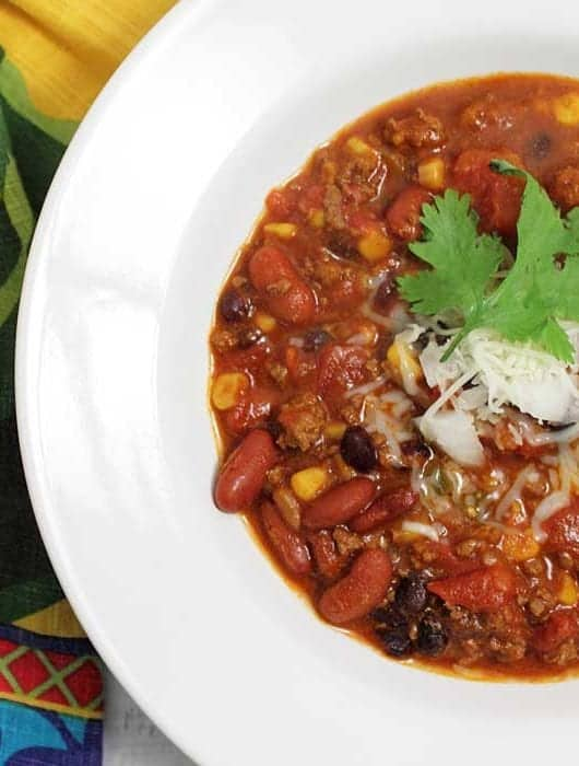 Chipotle Beef Chili square | 2 Cookin Mamas