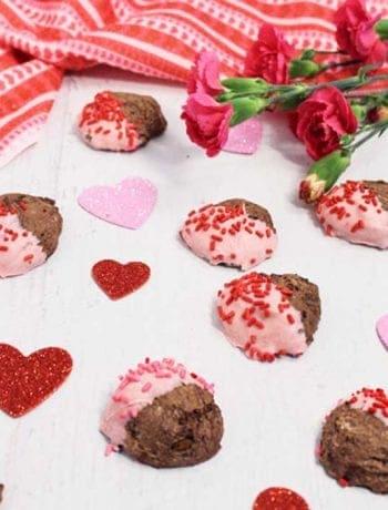 Chocolate Meringue Cookies square 2   2 Cookin Mamas