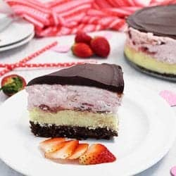 Neapolitan Cheesecake square 2 | 2 Cookin Mamas