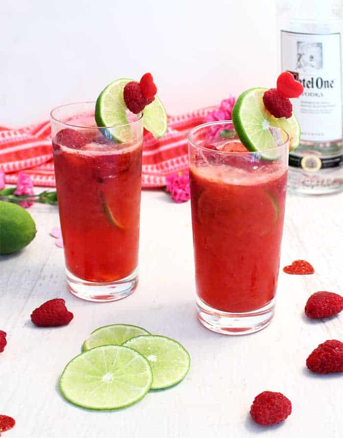 Red Raspberry Rickey 3 | 2 Cookin Mamas