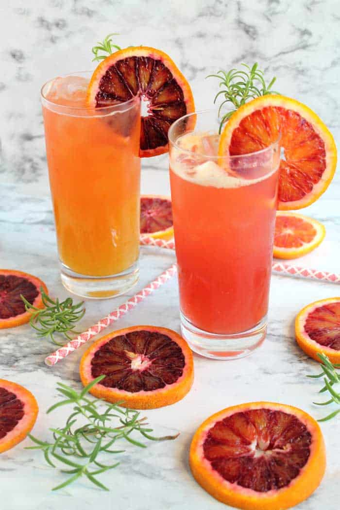 Blood Orange Cocktail / Island Breeze tall | 2 Cookin Mamas