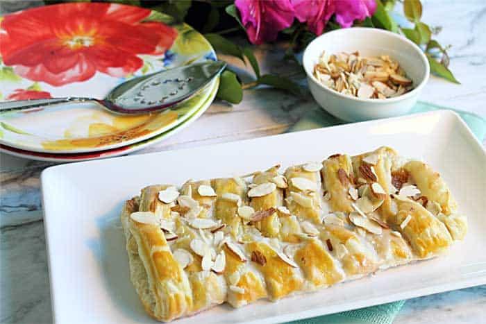 Almond Danish Braid 1 | 2 Cookin Mamas