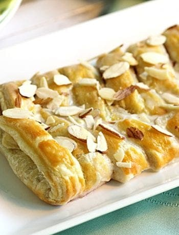 Almond Danish Braid 2 | 2 Cookin Mamas