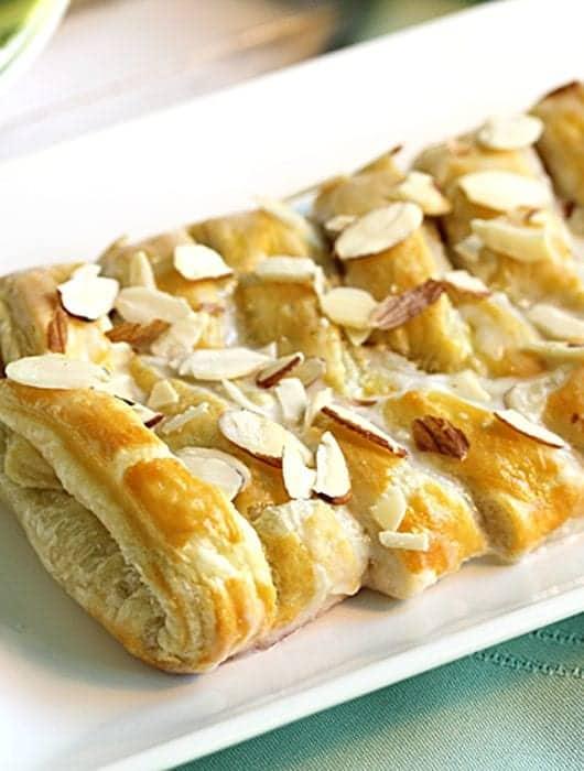 Almond Danish Braid 2 | 2 Cookin Mamas