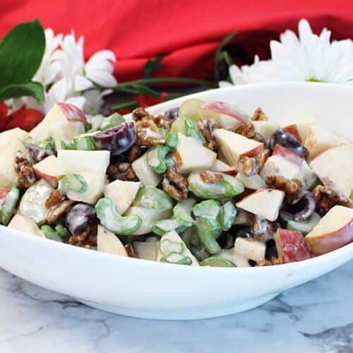 Fruity Waldorf Salad square | 2 Cookin Mamas