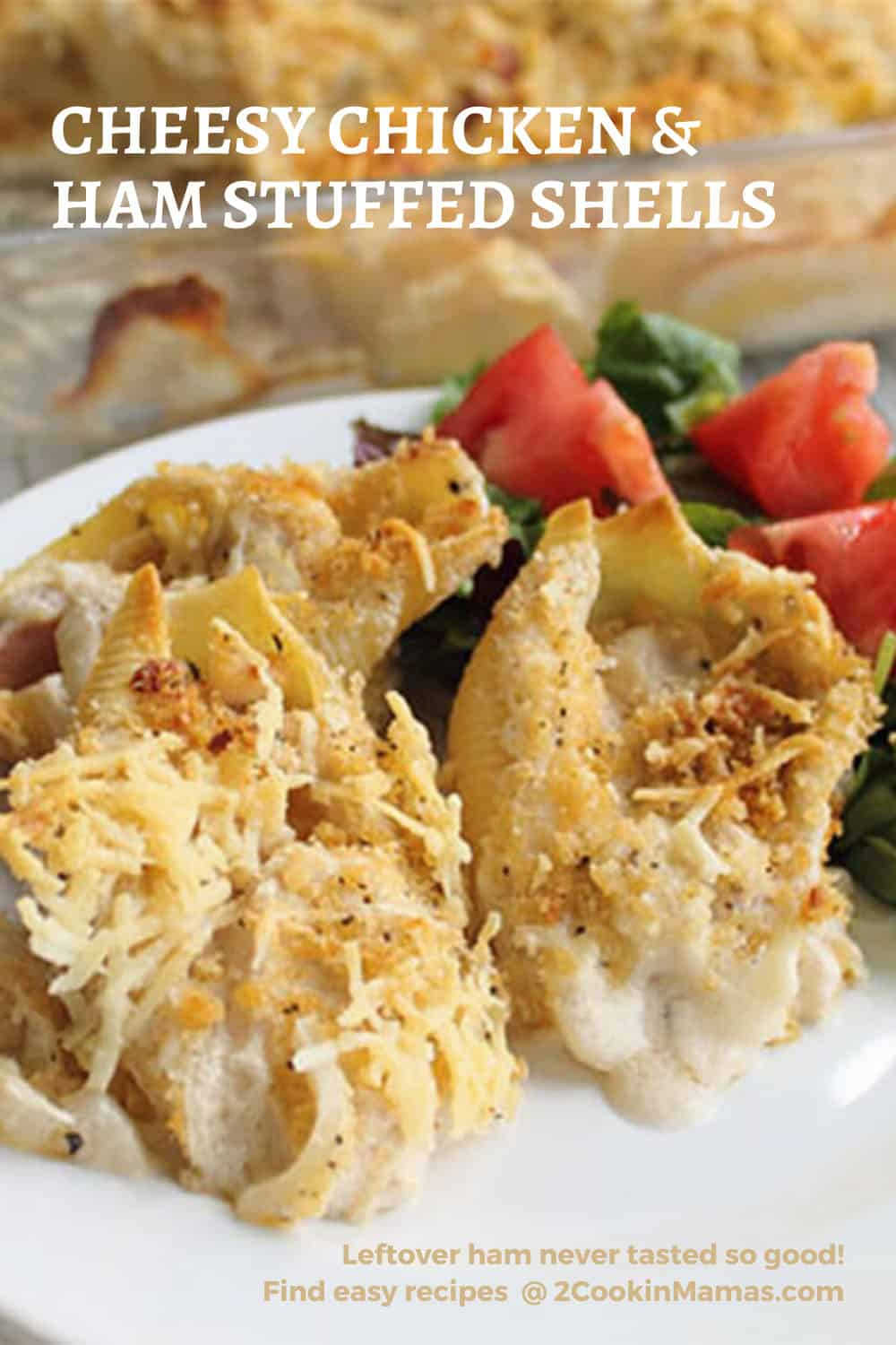 Chicken Cordon Bleu Shells