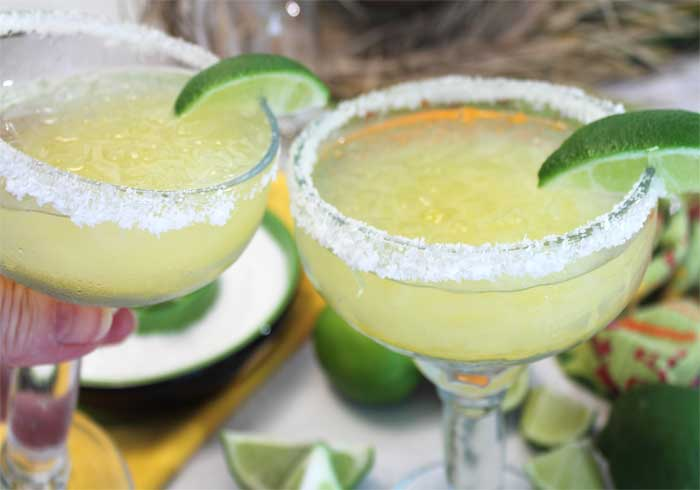 Margaritas on the rocks cheers | 2 Cookin Mamas