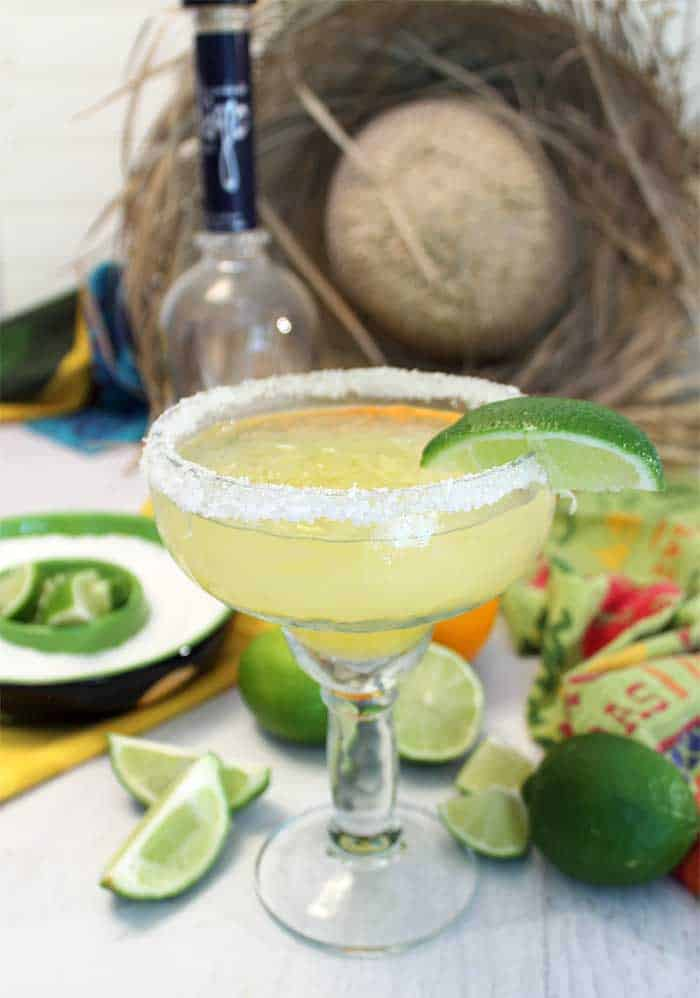 Margaritas on the rocks single tall | 2 Cookin Mamas
