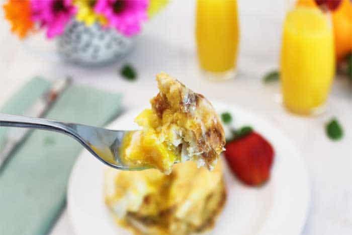 Crab Cake Eggs Benedict bite | 2 Cookin Mamas